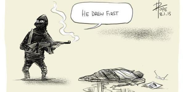 He Drew First - David Pope