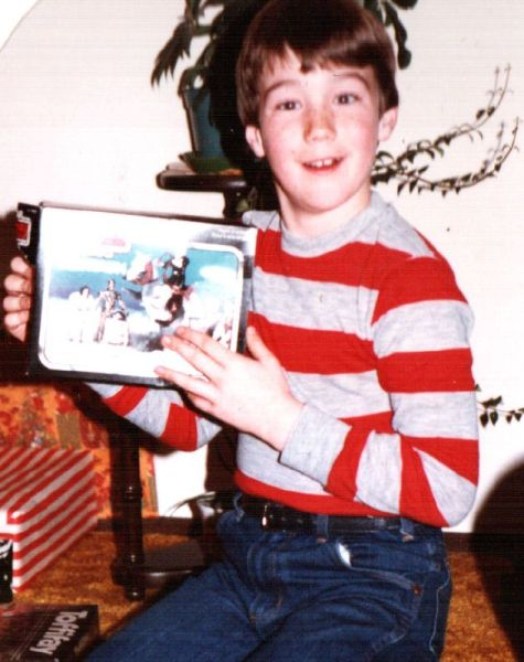 Star Wars Tauntaun Toy at Christmas in the 1980s