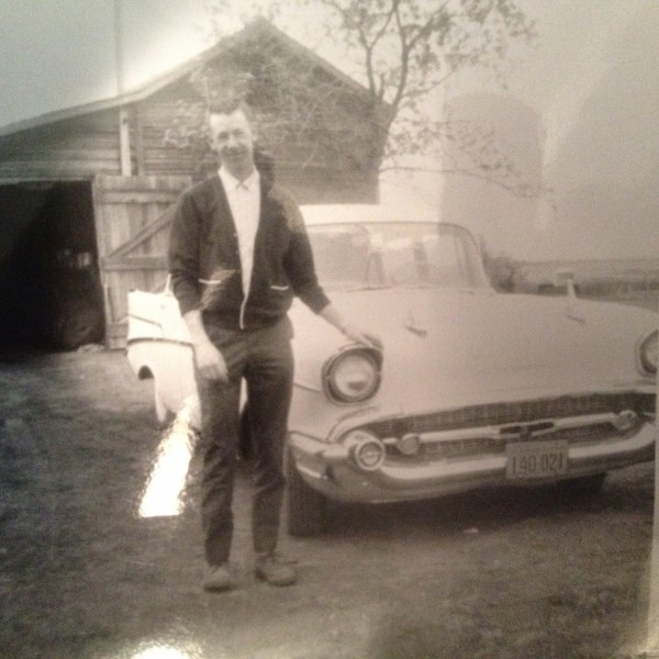 Dad and His Classic Car