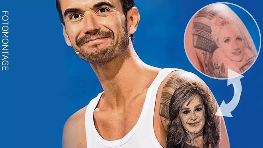 sein helene tattoo silbereisen florian