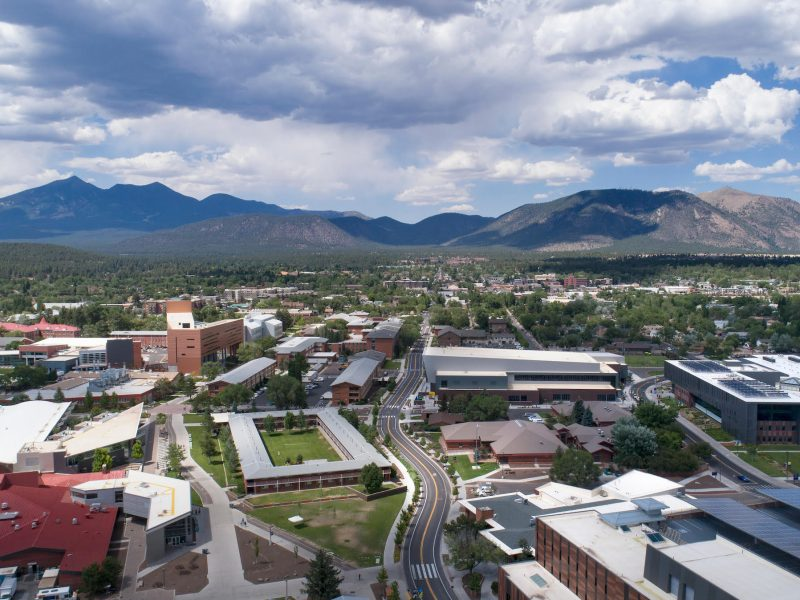 Northern Arizona University in Flagstaff, Arizona.