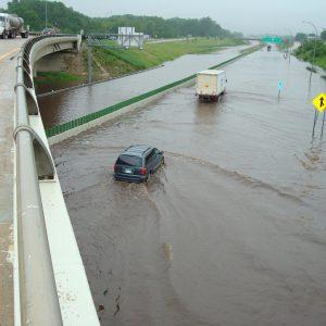 Flooding in Austin, Minnesota. Photo: Tim Ruzek