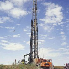 drilling rig in New Mexico