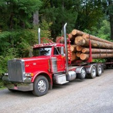 Logging Truck, County Payments, endowing federal public land counties