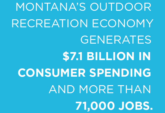 Montana outdoor economy: $7.1 billion