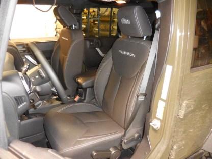 2014 - 2018 Jeep Wrangler Rubicon, JK, Sport Bucket Seat Covers
