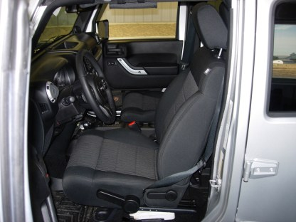 2011 - 2015 Jeep Wrangler Bucket Seat Covers