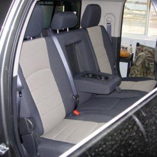 2010 - 2019 RAM Mega Cab Rear 40/60 Seat Covers