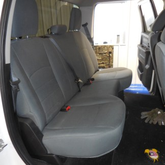 2013 - 2021 Classic Crew Rear Solid Bench Seat Covers