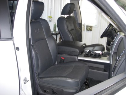 2009 - 2012 RAM Leather Bucket Seat Covers