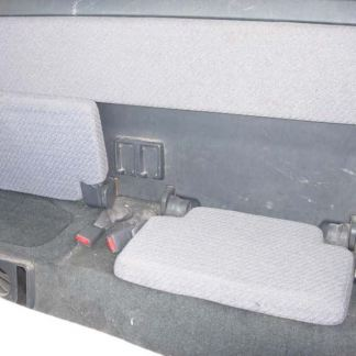 1981 - 1994 Toyota Pickup Ext Cab Rear Seat Covers