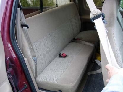 1997 - 1998 Ford F-150 Super Cab Bench Rear Seat Covers