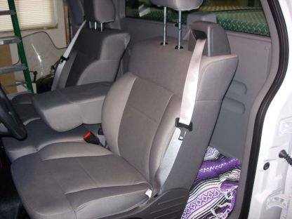2004 - 2008 Ford F-150 40/20/40 with Integral Seat Belt and Non-Opening Armrest Seat Covers