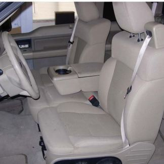 2004 - 2008 Ford F-150 40/20/40 with Integral Seat Belt and Opening Console Seat Covers