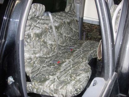 2004 - 2009 Dodge Quad Cab Rear Bench Seat Covers