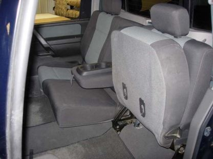 2004 - 2015 Nissan Titan 40/60 with Armrest Seat Covers