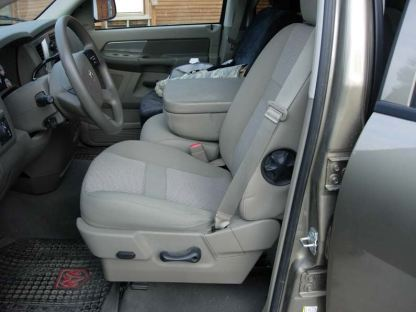 2005 - 2009 Dodge 40/20/40 Plastic Cowling, Opening Upper and Lower Consoles Seat Covers