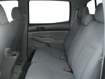 2005 - 2008 Tacoma Double Cab Rear 40/60 Seat Covers