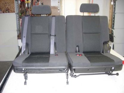 2007 - 2014 Chevy Suburban 3rd Row 50/50 Seat Covers