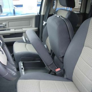 2009 - 2012 RAM Cloth 40/20/40 Opening Upper and Lower Consoles Seat Covers