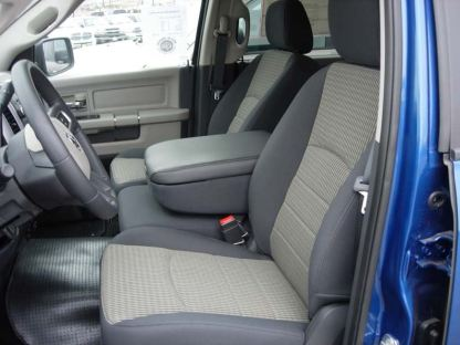 2009 - 2012 RAM 40/20/40 with Opening Upper Console Non-Opening Middle Bottom Seat Covers