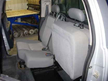 2005 - 2011 Dodge Dakota Crew Cab Rear 40/60 Seat Covers