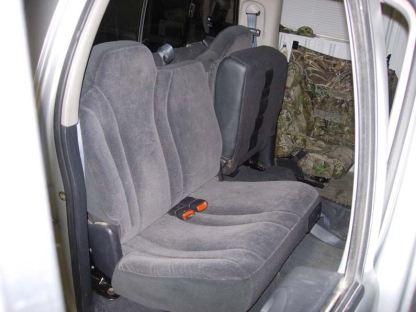 1999 - 2004 Dodge Dakota Crew Cab Rear 40/60 Seat Covers
