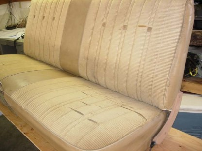 1977 - 1980 Chevy Suburban Bench Seat Covers