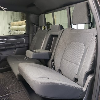 2019 - 2022 RAM Crew Rear 40/60 with Armrest Seat Covers