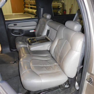 2000 - 2002 Chevy Suburban Middle Row 60/40 Seat Covers