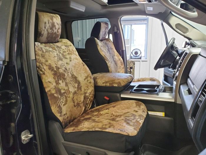 2010 – 2019 RAM Mega Cab Rear 40/60 Seat Covers