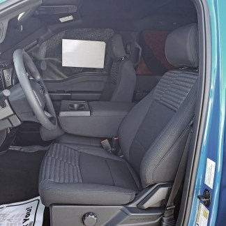 2021-2022 Ford F-150 XL 40/20/40 with Armrest Seat Covers