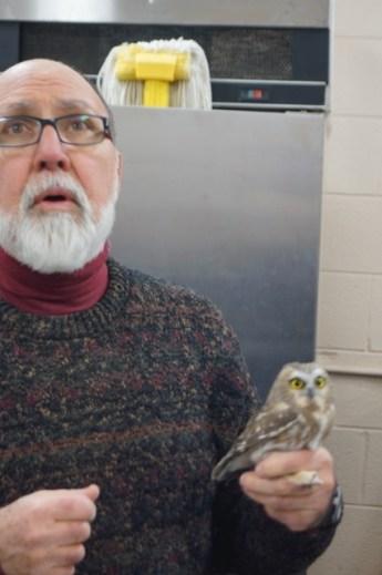 Retired Eastern Mennonite University biology professor Clair Mellinger tells about the migration behavior of Northern Saw-whet Owls.