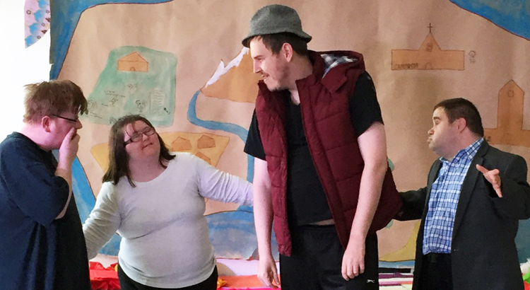 Satellites is our creative & performing arts workshop programme for people who are learning disabled, have mental health issues or enduring health problems