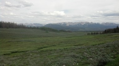 Up on Union pass, my lowest time on the divide. Even the amazing views couldn't bring me up.