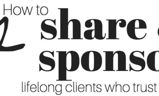12 share & sponsor