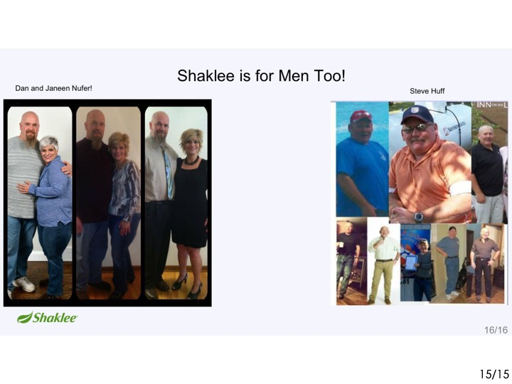 -When you eat better, you can have stories like this. ------- -Dan & Janeen each lost 70 lbs. . -------  -As a result, Dan is now off his sleep apnea machine. . -------  -& all his meds. . -------  -Steve is a truck driver who went . -------  -from coffee & donut breakfast to Shaklee Life Shake. . -------  -Doesn't he look great?