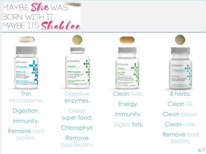 -We used to believe that thin people were just born that way. -They got the good genes, the fast metabolism. -The rest of us were just out of luck. -Maybe she WAS born with it, -But -MAAAYYYBEEE  -MAYBE it's SHAKLEE! -This means ALL of us can be THIN -If we just give ourselves the right tools.