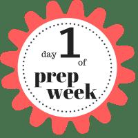 shaklee 7 day healthy cleanse day 1 of prep week