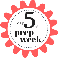 Shaklee 7 Day Healthy Cleanse day 5 of prep week