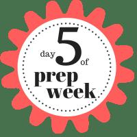 Shaklee 7 Day Healthy Cleanse day 5 of prep week