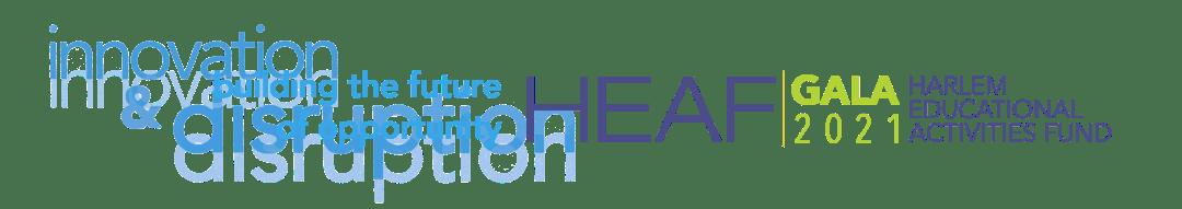masthead for HEAF 2021 Virtual Gala