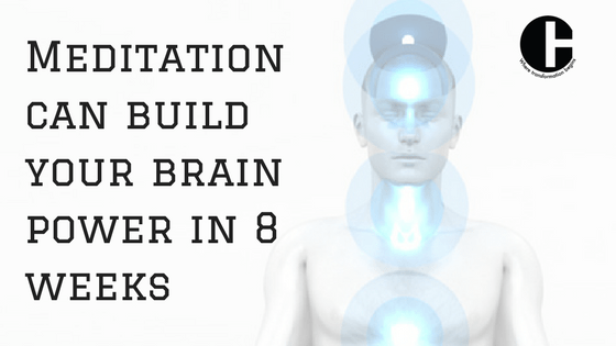 Meditation can build brain power