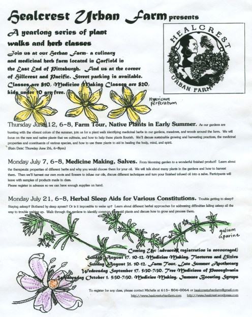 Herb Class-July