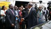 Kivumbi Earnest Benjamin with Prime Minister Dr Ruhaka Rugunda (3)