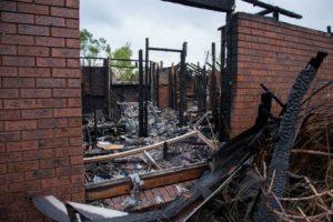 Badger Creek House fire 20160511