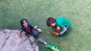Acampamento crianças Ecovila Viver Simples
