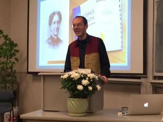 Tony Lobl talk