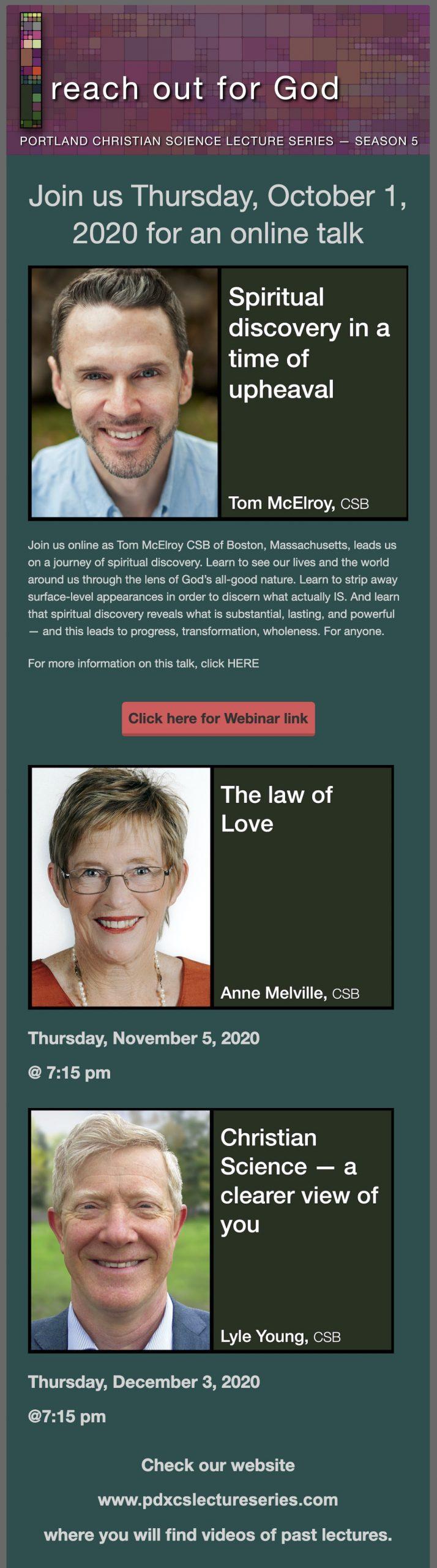 Online Lecture Invitation