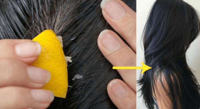 Lemon Juice to Increase Hair Health